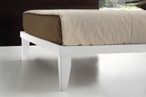 Simply Bed sommier legno bianco8